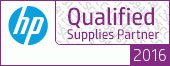 HP Qualified Supplies Partner 2016